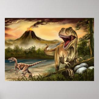 Predator Dinosaurs Poster