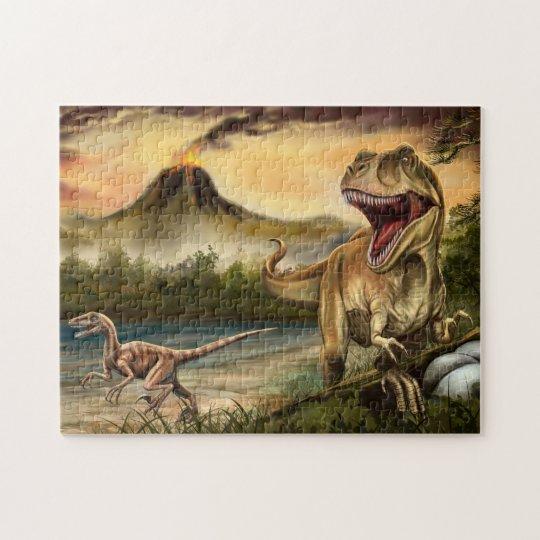 Predator Dinosaurs Puzzle