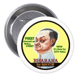 Preet Bharara for NYC Mayor 2017 7.5 Cm Round Badge
