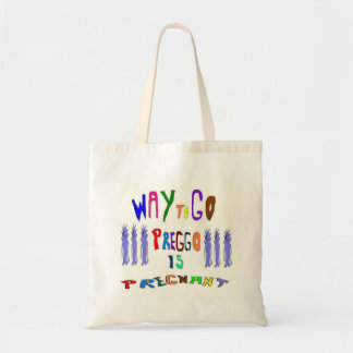 Preggo Is Pregnant Budget Tote Bag