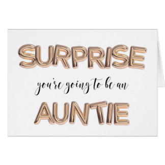 Pregnancy Announcement for sister auntie!