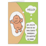 Pregnancy Announcement Greeting Cards