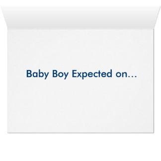 Pregnancy Announcement Note Card