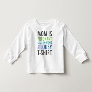 Pregnancy Announcement Shirt for Kids