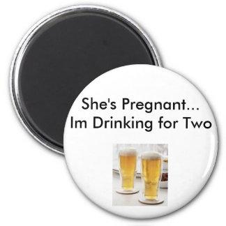 pregnancy excuses magnet