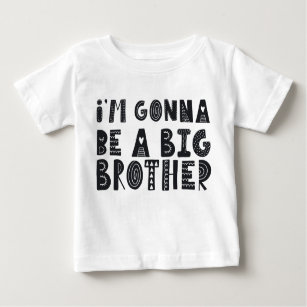 e9546a8de03e Pregnancy  I m gonna be a piglet brother Baby T-Shirt