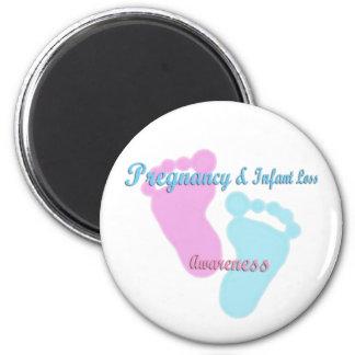 Pregnancy & Infant Loss Awareness Fridge Magnet