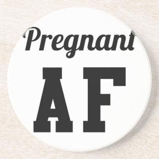 Pregnant AF Coaster