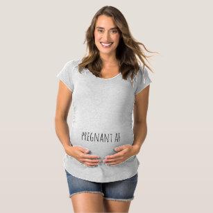 f91acea669c9b Funny Maternity Shirts & Tops | Zazzle.com.au