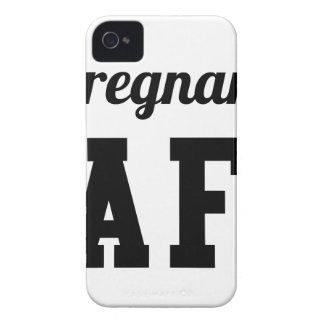 Pregnant AF iPhone 4 Case-Mate Cases