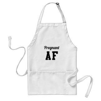 Pregnant AF Standard Apron