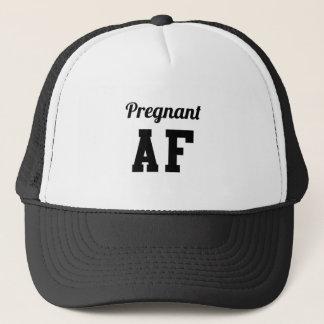 Pregnant AF Trucker Hat