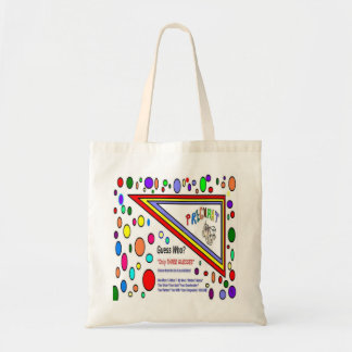 Pregnant Guess Who Budget Tote Bag