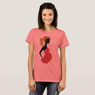 Pregnant lady designers t-shirt