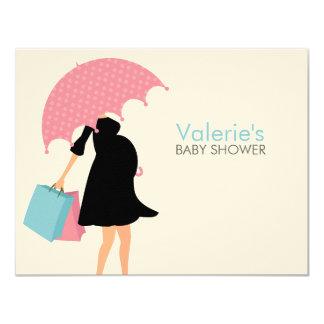 Pregnant Mom Baby Shower Mom Advice Cards 11 Cm X 14 Cm Invitation Card