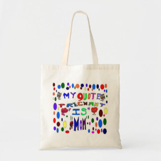 Pregnant MOM Budget Tote Bag