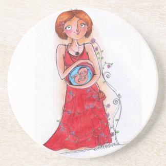 pregnant Mom Coaster