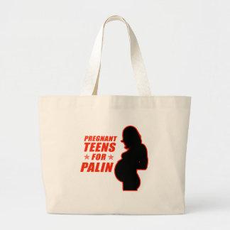 Pregnant Teens for Palin Bag