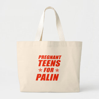 Pregnant Teens for Sarah Palin Bags