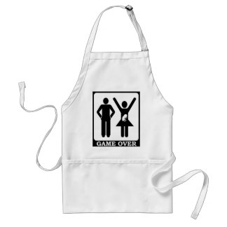 Pregnant Wife - Game Over Aprons