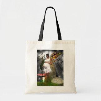Pregnanty Fairy Bag Fantasy Art African American