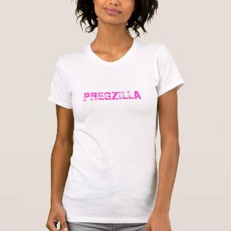 Pregzilla Pregnant Womans Funny - T-Shirt