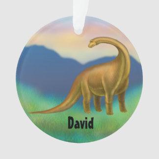 Prehistoric Brachiosaurus Dinosaur Ornament