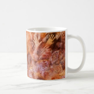 Prehistoric Cave Painting of Hands Coffee Mug