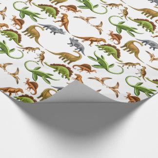 Prehistoric Dinosaur Paleo Wrapping Paper