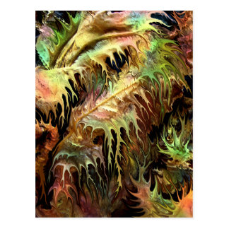 Prehistoric forest by rafi talby postcard