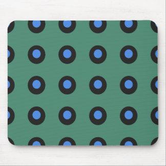 Prehistoric-Green-Blue-Unisex Mouse Pad