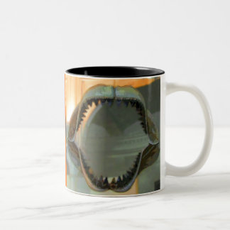 Prehistoric Jaws CB Two-Tone Mug