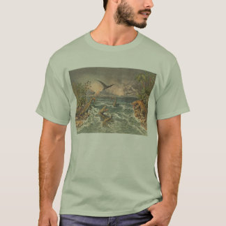 Prehistoric Life Antique Print T-Shirt