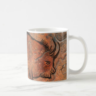 Prehistoric painting coffee mug