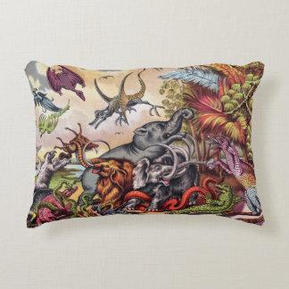 Prehistoric Playground Decorative Cushion