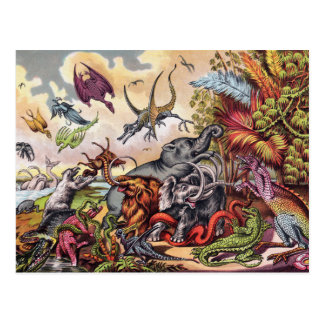 Prehistoric Playground Postcard