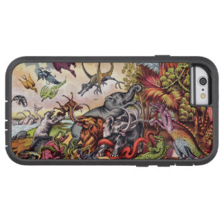 Prehistoric Playground Tough Xtreme iPhone 6 Case