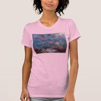 Prehistoric Sea Bottom Antique Print T-Shirt
