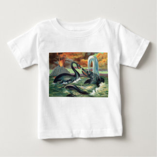Prehistoric Sea Creatures Antique Print Tshirts