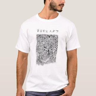 Prehistoric stone carvings from Newgrange, Ireland T-Shirt