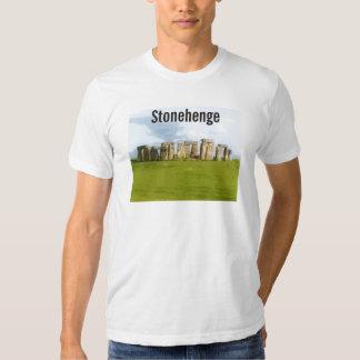 Prehistoric Stonehenge Illustration Tshirts