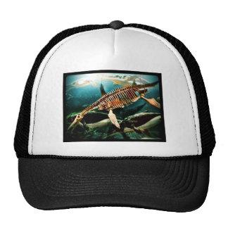 Prehistoric Underwater Sea Creature - Loch ness Trucker Hat