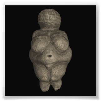 Prehistoric Venus Figurine Photo Print