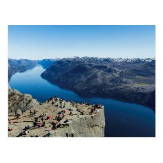 Preikestolen (Pulpit Rock) Norway Postcard