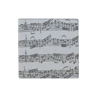 Prelude Bach Cello Suite Handwritten Stone Magnet
