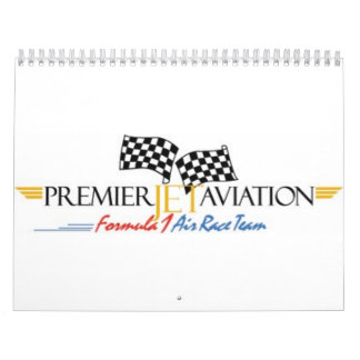 Premier Jet Formula One Racing Wall Calendars