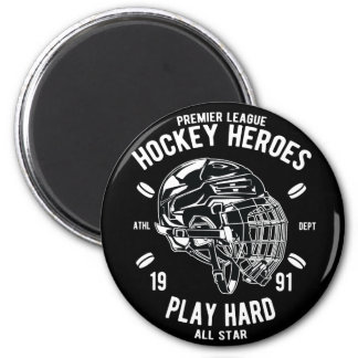 Premier League Hockey Heroes Play Hard All Star Magnet