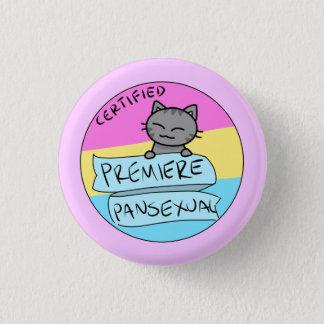 Premiere Pansexual! 3 Cm Round Badge