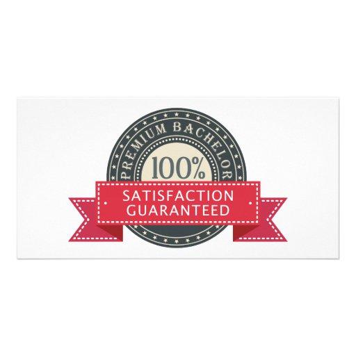 Premium Bachelor Customized Photo Card
