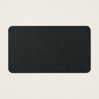 Premium Black Plain Minimalist Classical Design Business Card